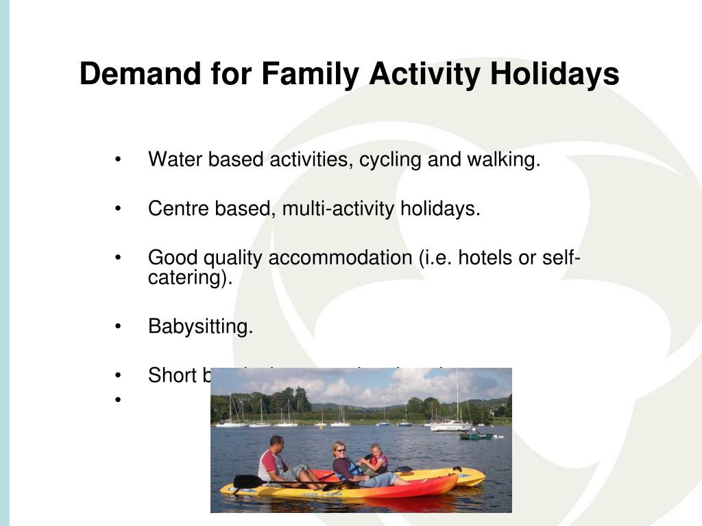 Demand for Family Activity Holidays