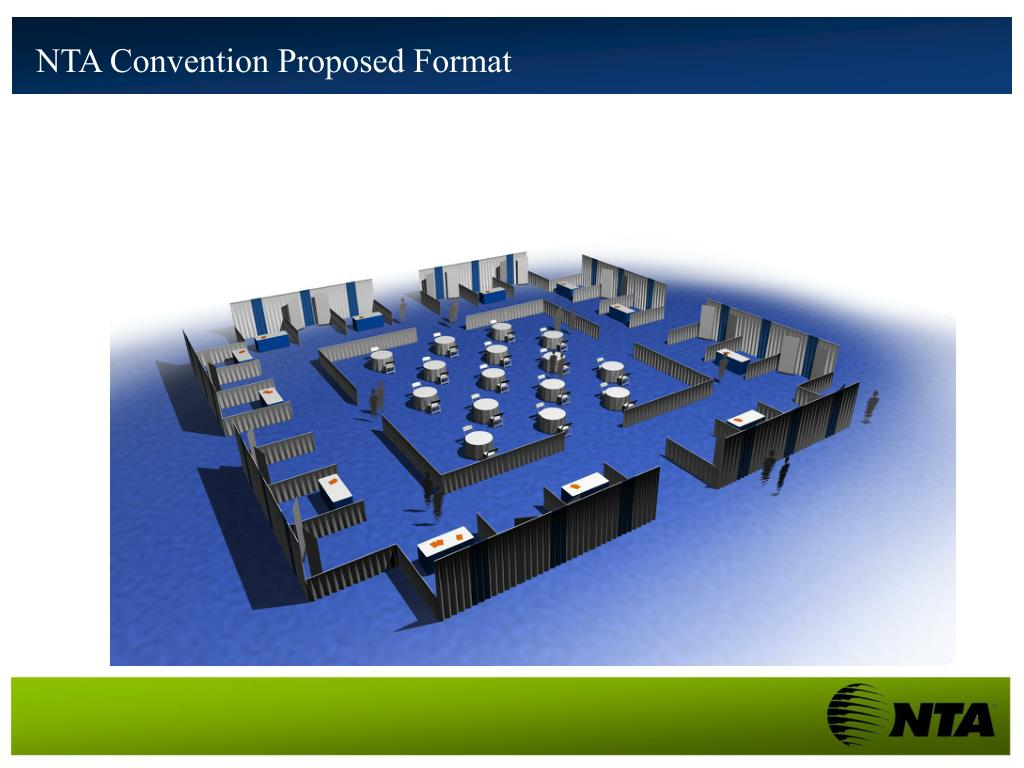 NTA Convention Proposed Format