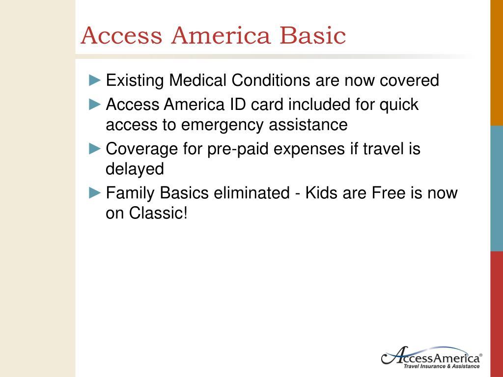 Access America Basic
