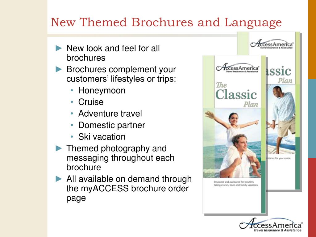 New Themed Brochures and Language
