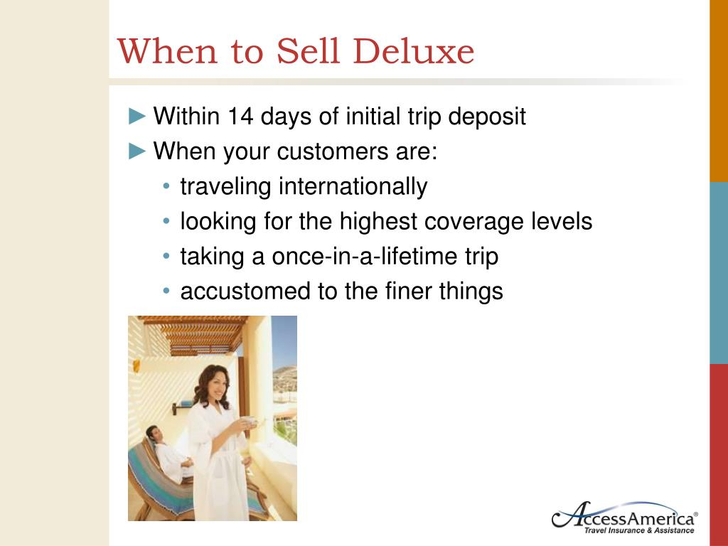 When to Sell Deluxe