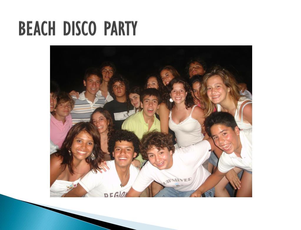 BEACH DISCO PARTY