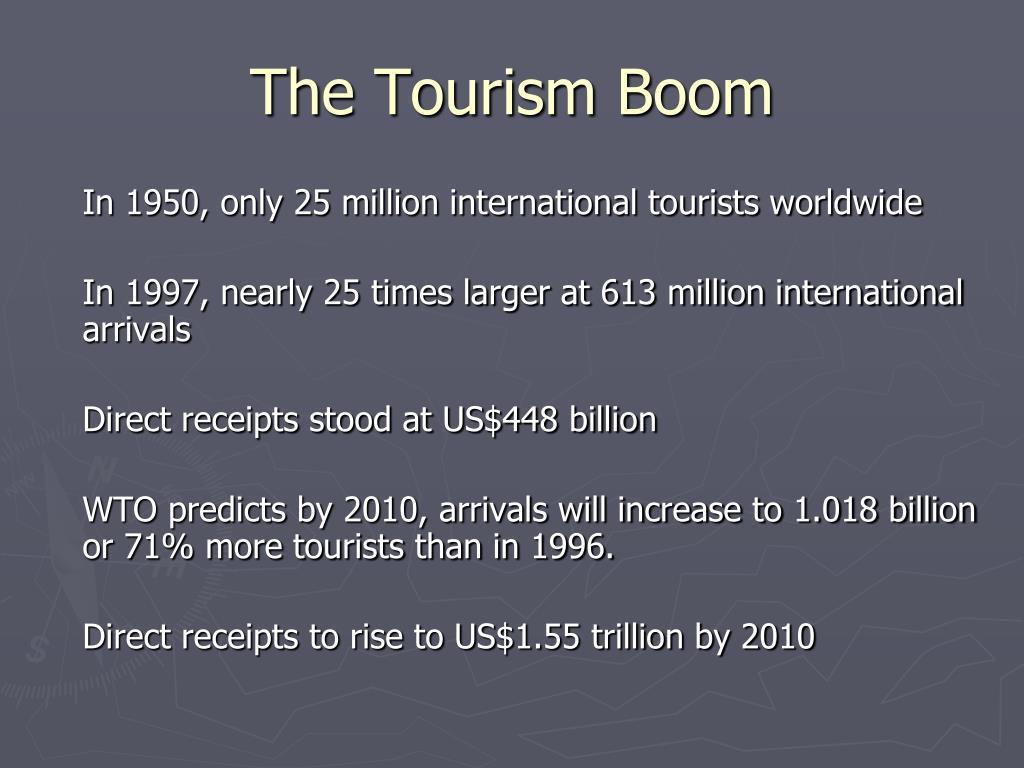 The Tourism Boom