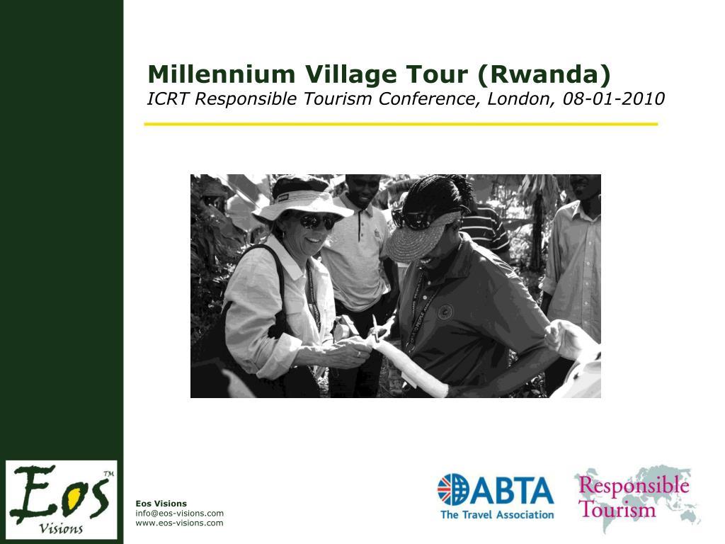 Millennium Village Tour (Rwanda)