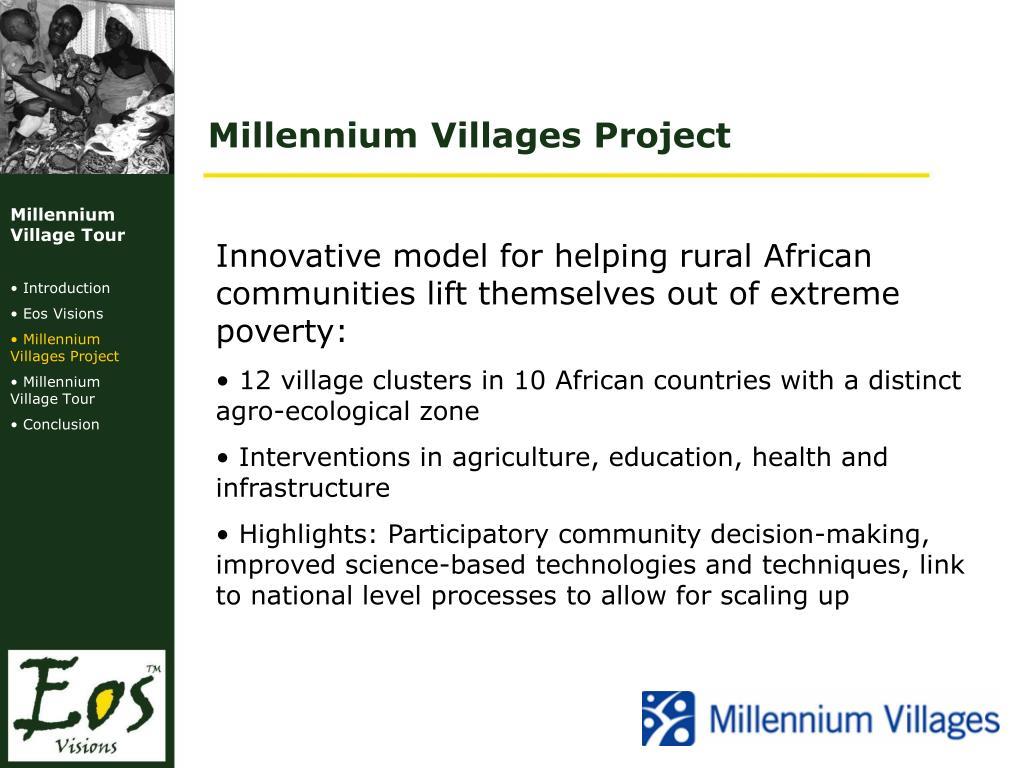 Millennium Villages Project