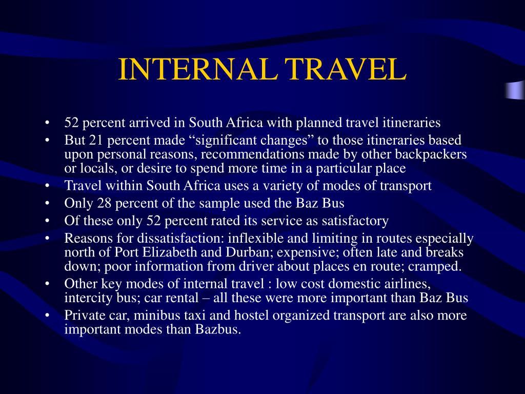 INTERNAL TRAVEL