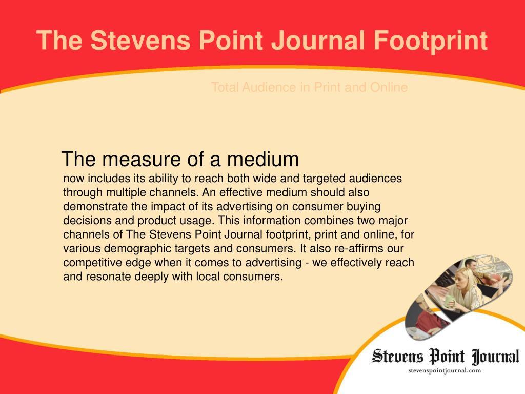 The Stevens Point Journal Footprint