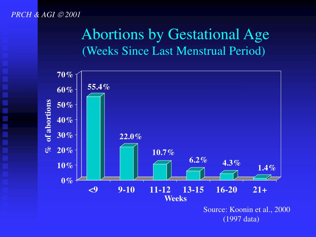 Abortions by Gestational Age