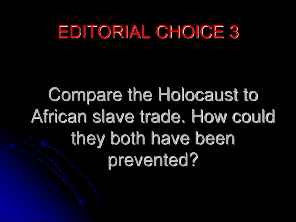 could the holocaust have been prevented essay What are suggested holocaust research paper topics for students many people refer to the holocaust as a tragic event that should have been prevented what could.