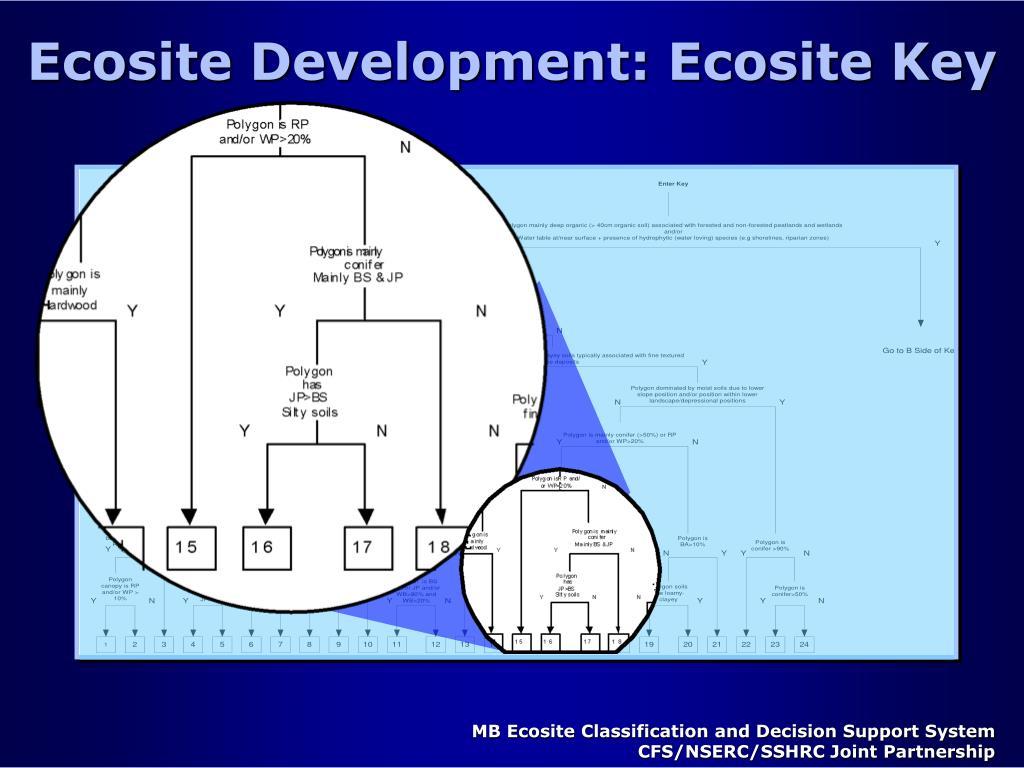 Ecosite Development: Ecosite Key