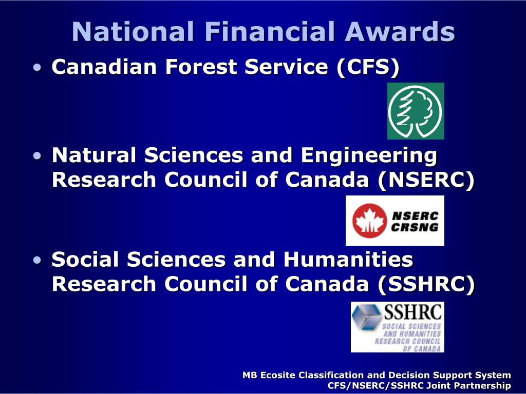 National Financial Awards