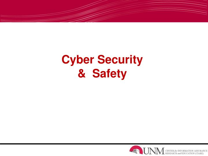 Cyber security safety l.jpg