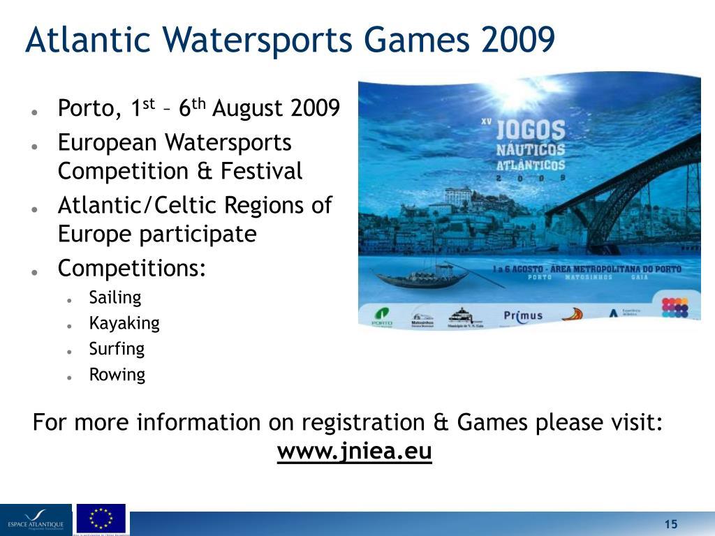 Atlantic Watersports Games 2009