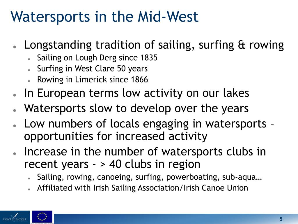 Watersports in the Mid-West