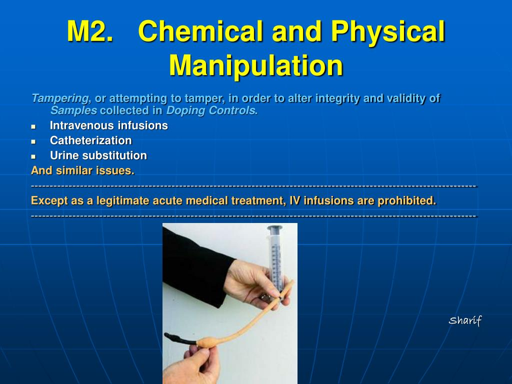 M2.   Chemical and Physical Manipulation
