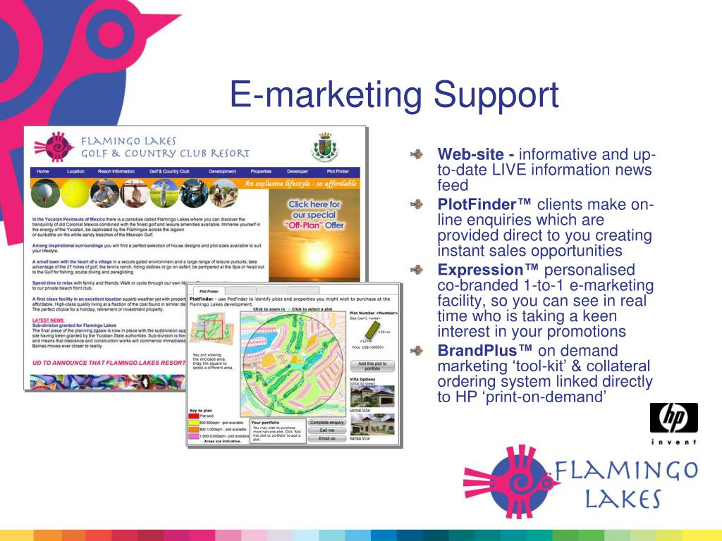 E-marketing Support