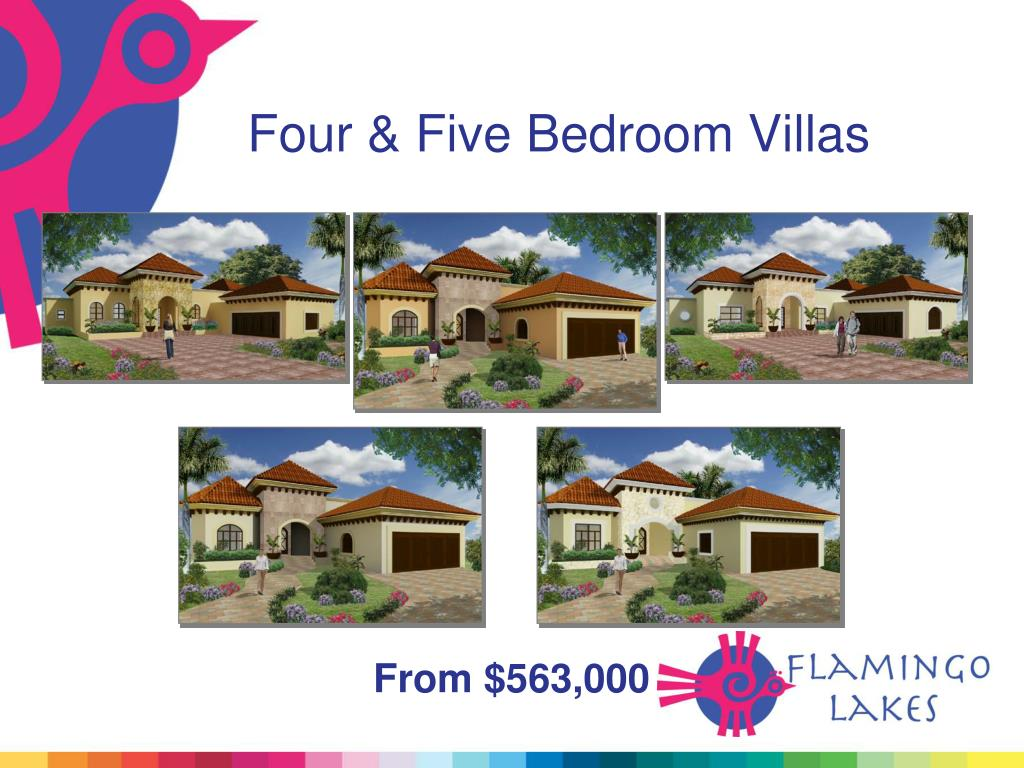 Four & Five Bedroom Villas