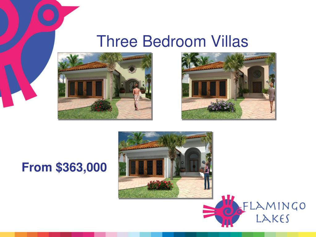 Three Bedroom Villas
