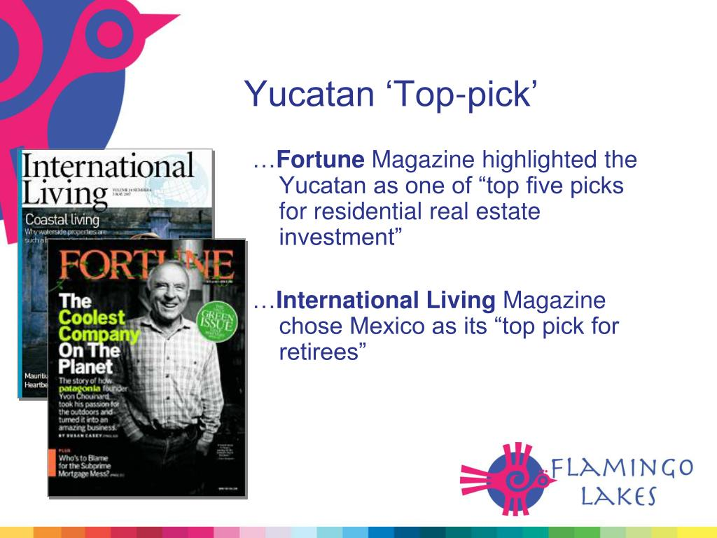 Yucatan 'Top-pick'