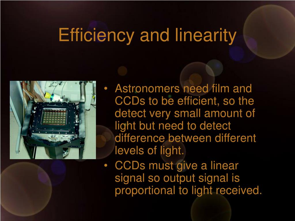 Efficiency and linearity