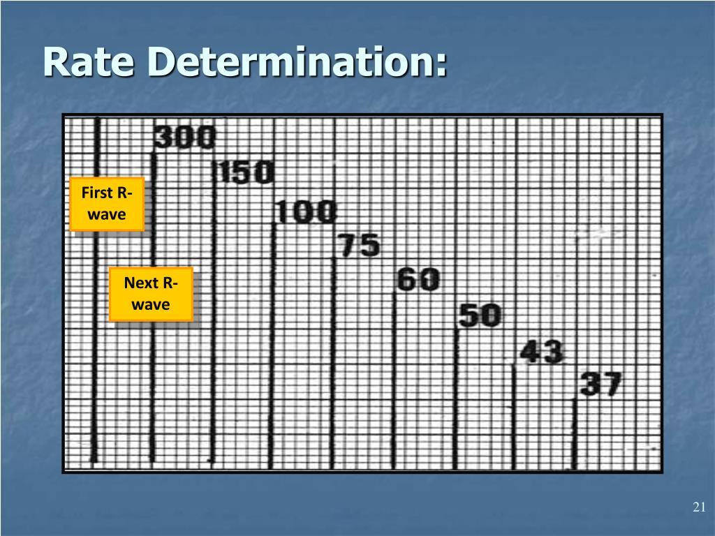 Rate Determination: