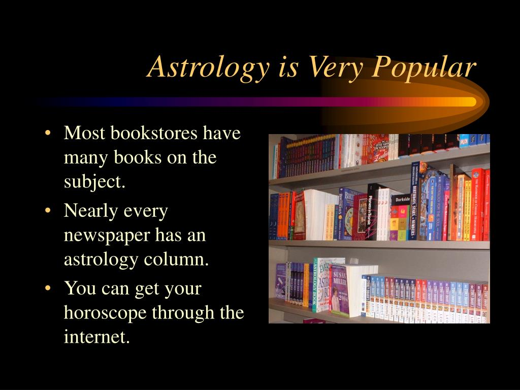 Astrology is Very Popular