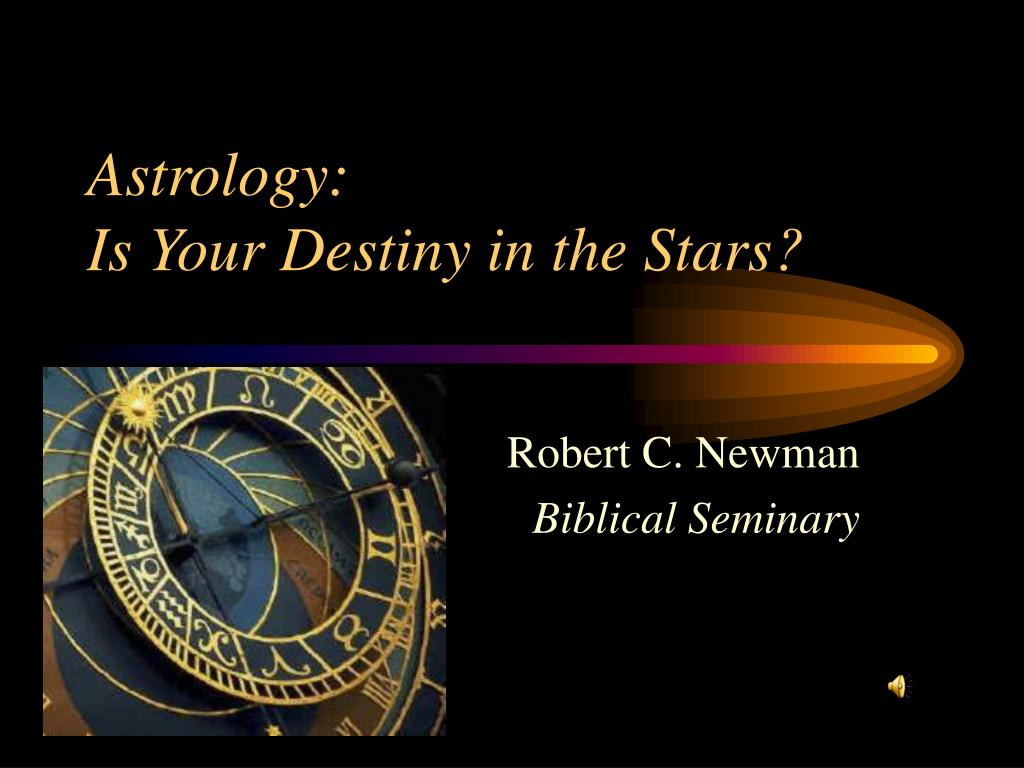 astrology is your destiny in the stars