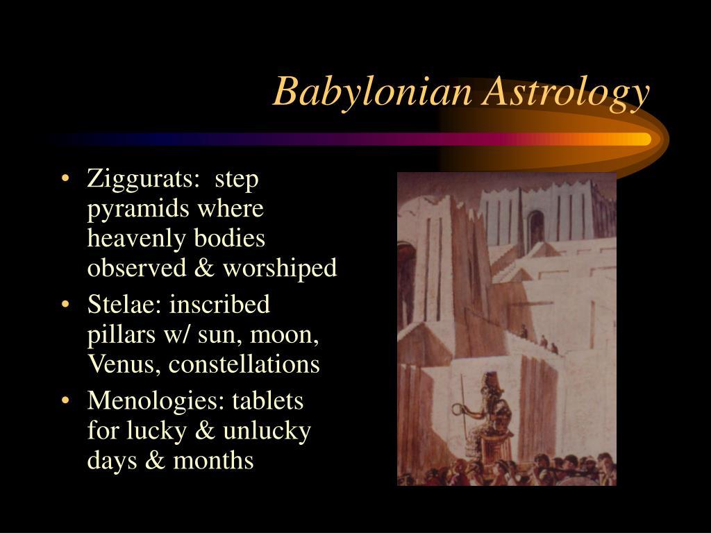Babylonian Astrology