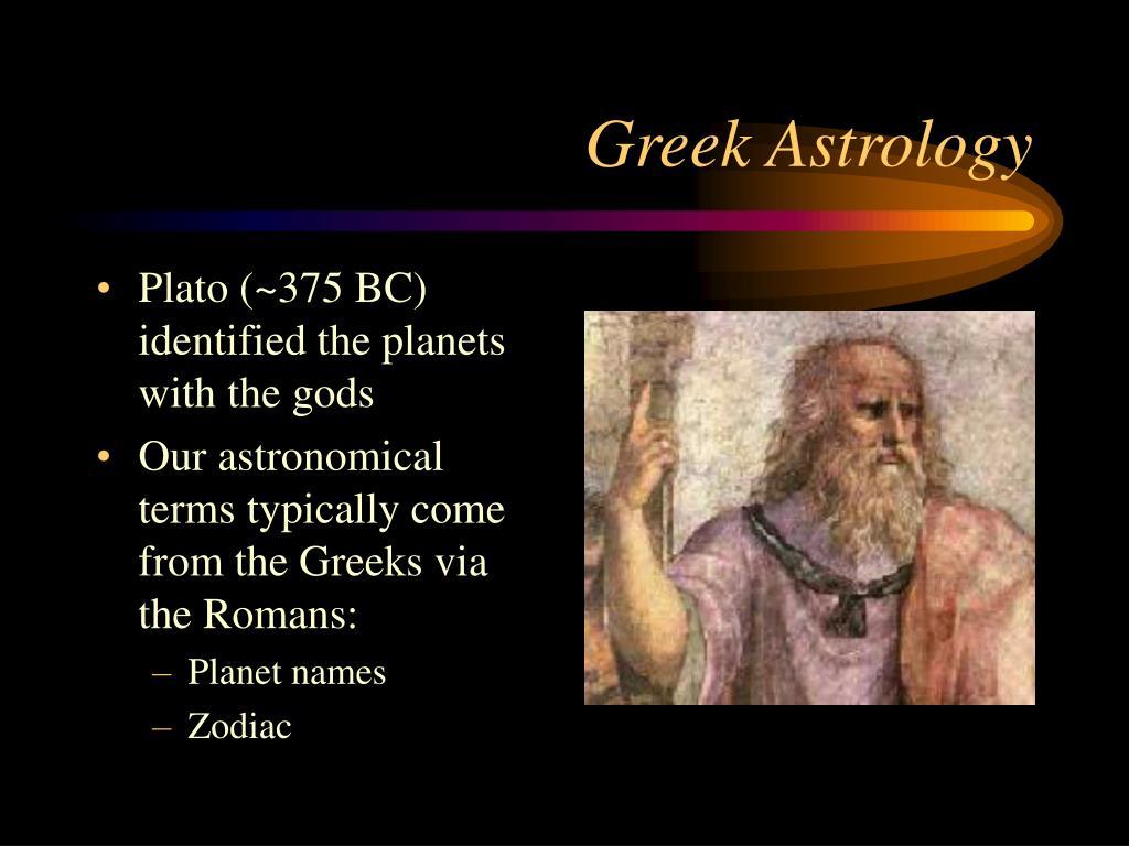 Greek Astrology