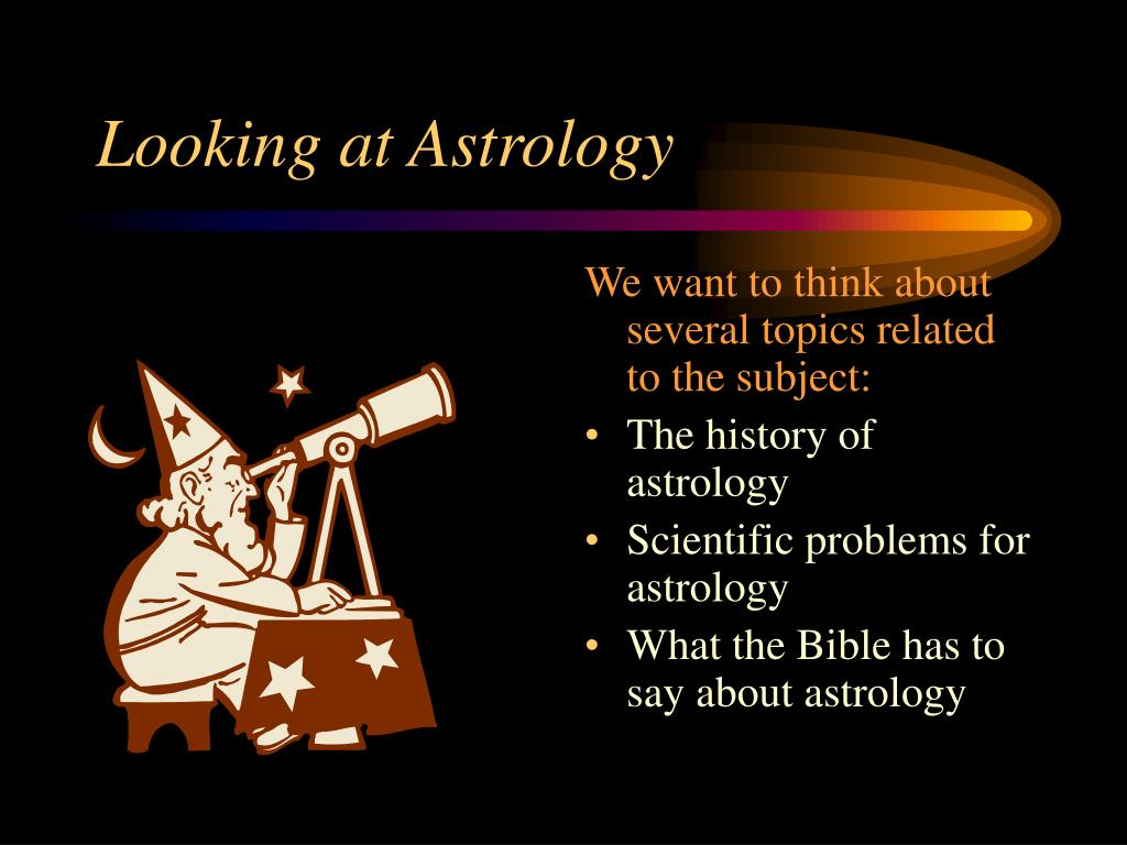 Looking at Astrology
