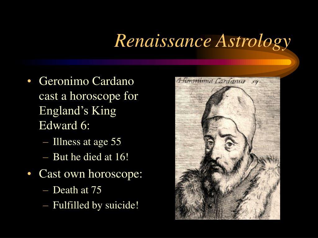 Renaissance Astrology