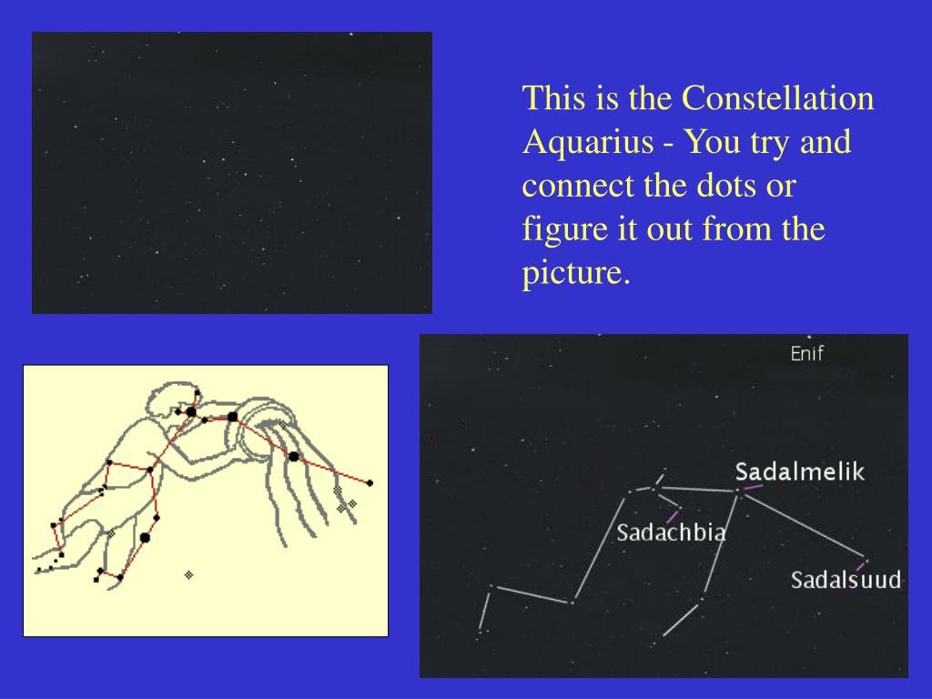 This is the Constellation Aquarius