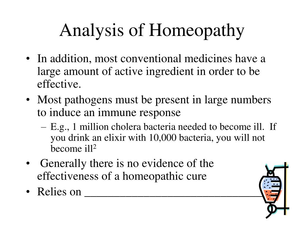 Analysis of Homeopathy