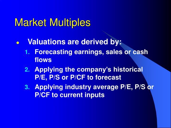 Market Multiples