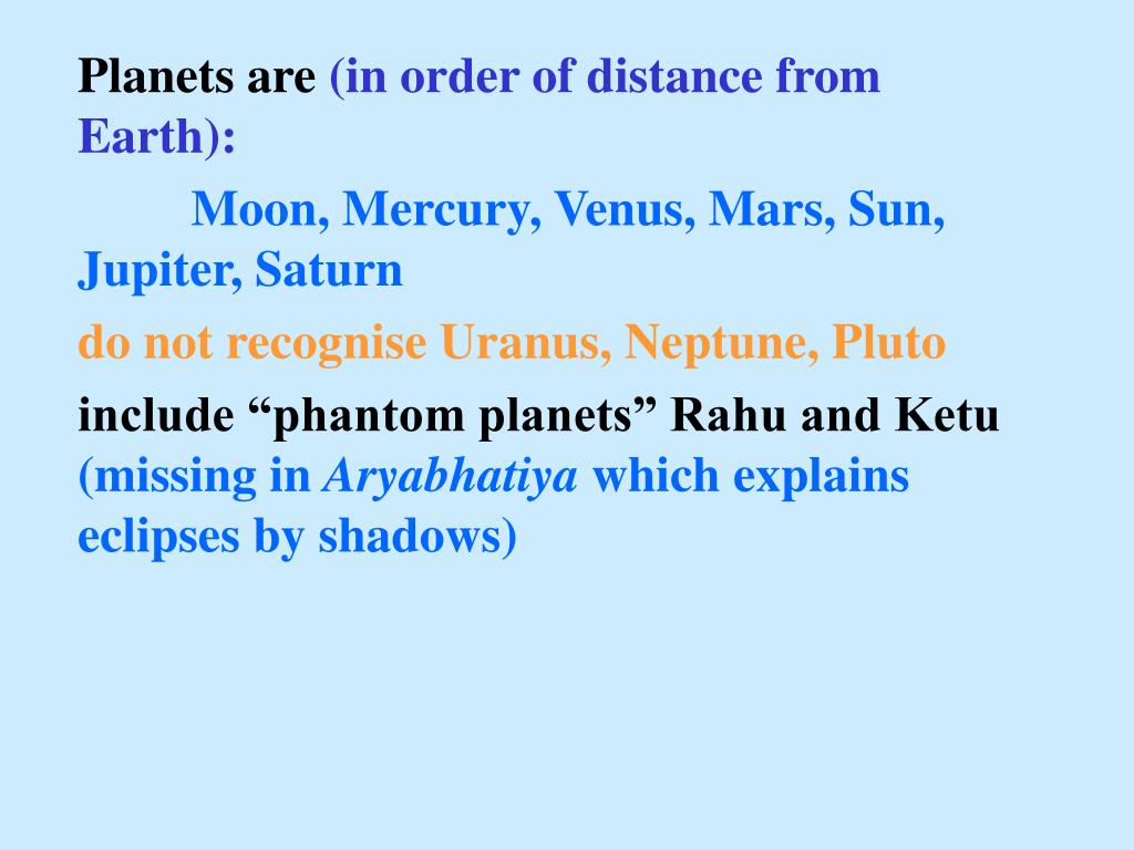 Planets are