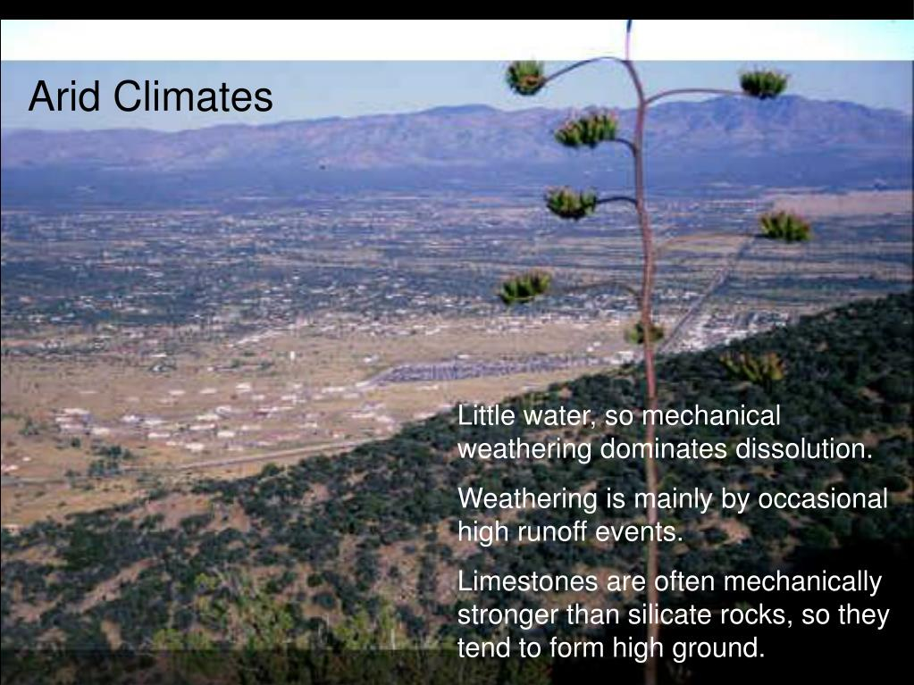 Arid Climates