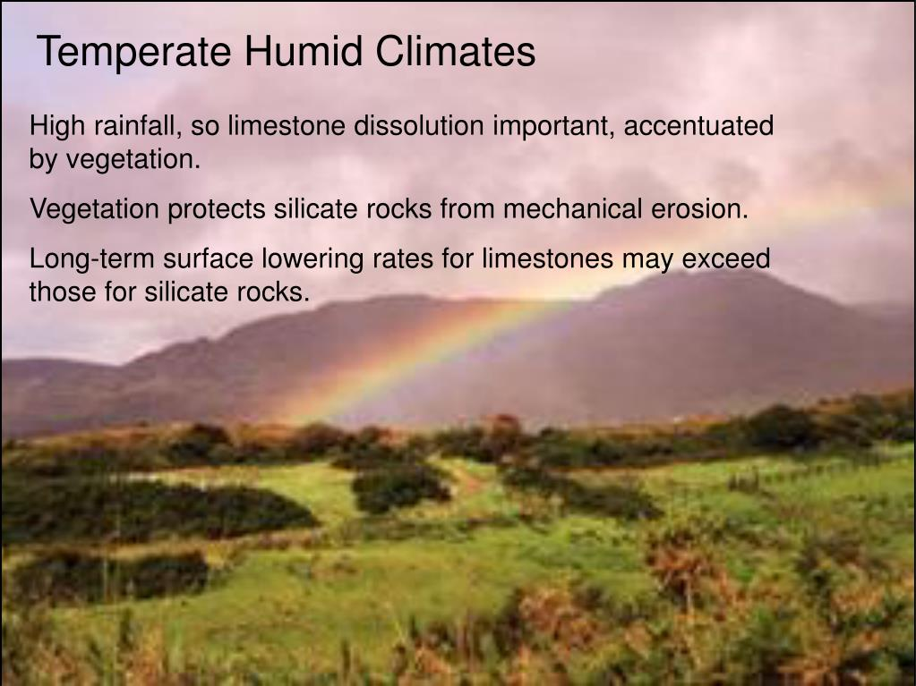 Temperate Humid Climates