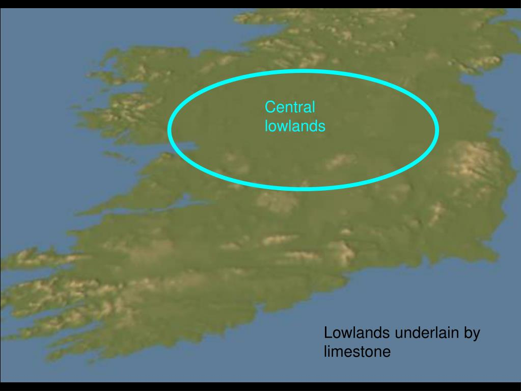 Central lowlands