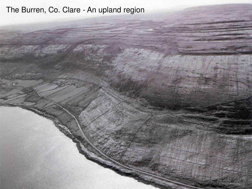 The Burren, Co. Clare - An upland region