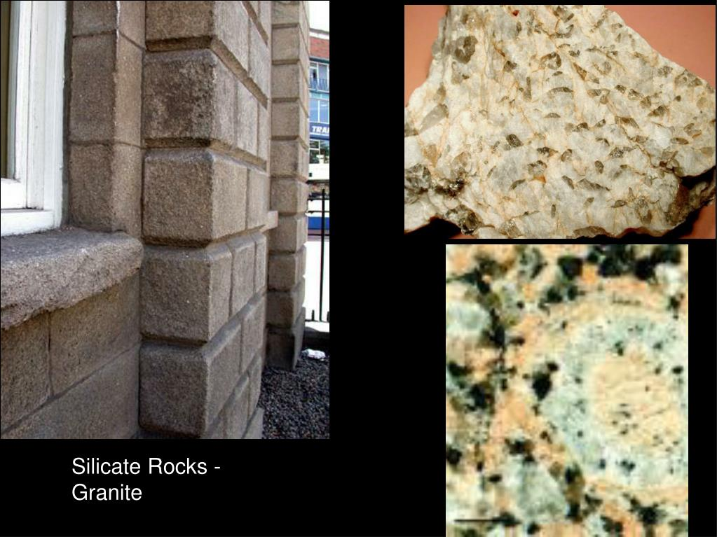 Silicate Rocks - Granite