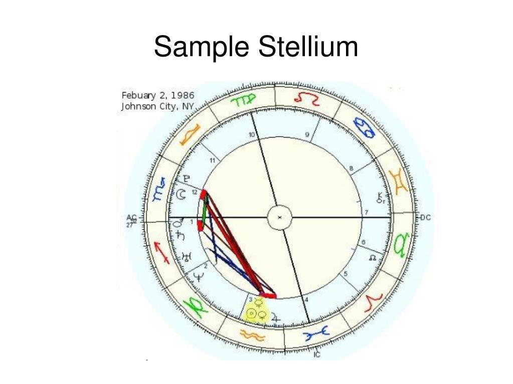 Sample Stellium