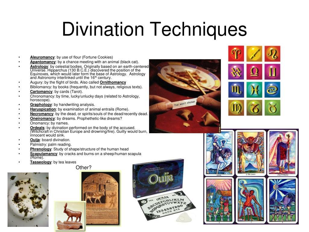 Divination Techniques