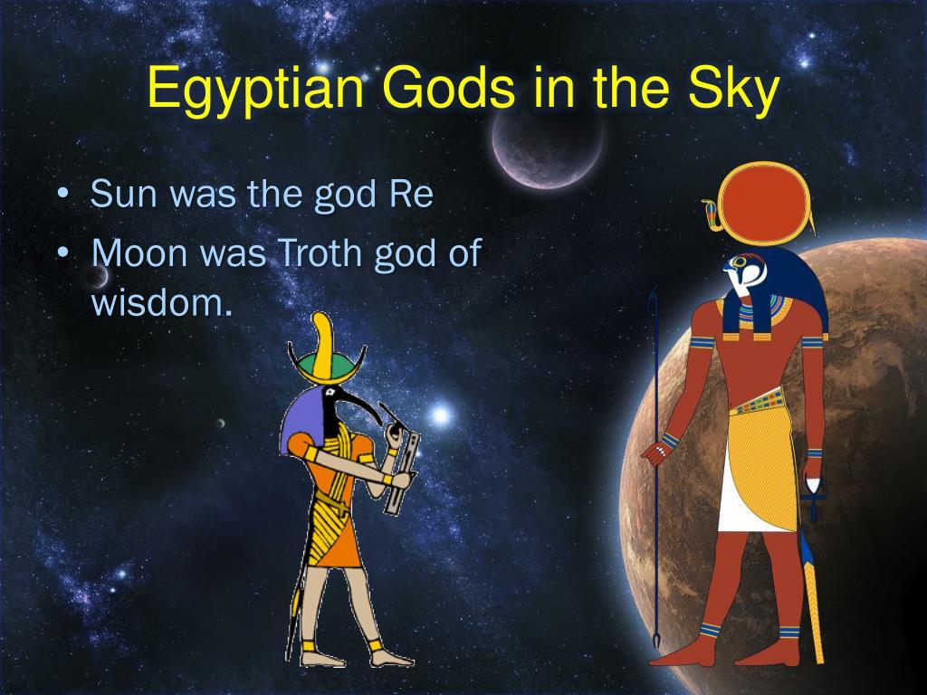 Egyptian Gods in the Sky