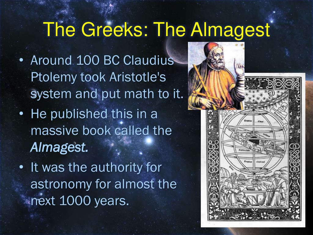The Greeks: The Almagest