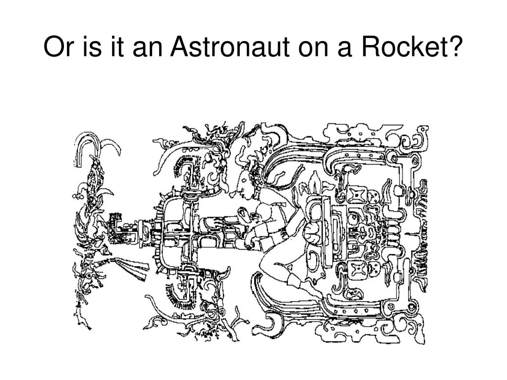 Or is it an Astronaut on a Rocket?