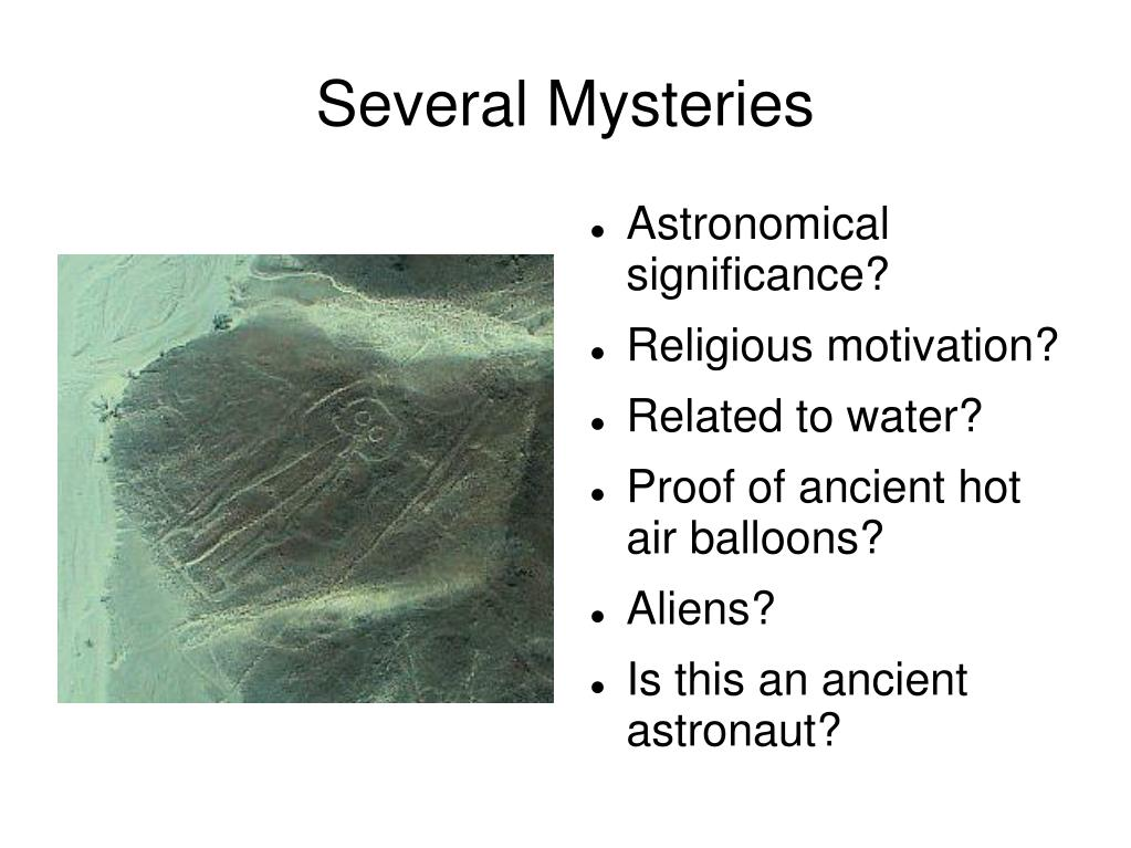 Several Mysteries