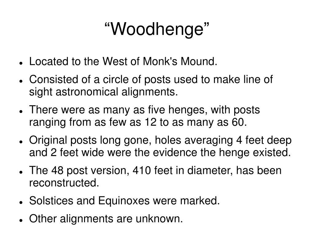 """""""Woodhenge"""""""