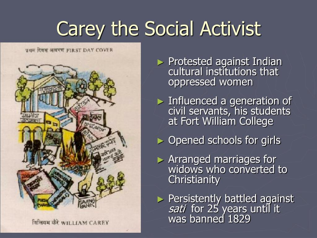 Carey the Social Activist