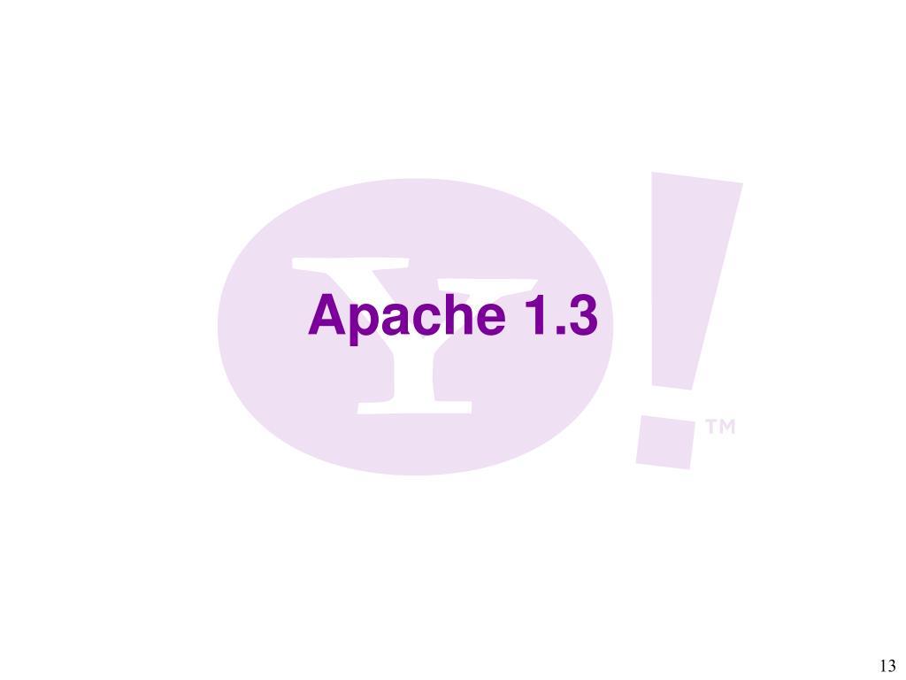 Apache 1.3