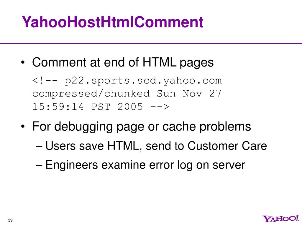 YahooHostHtmlComment